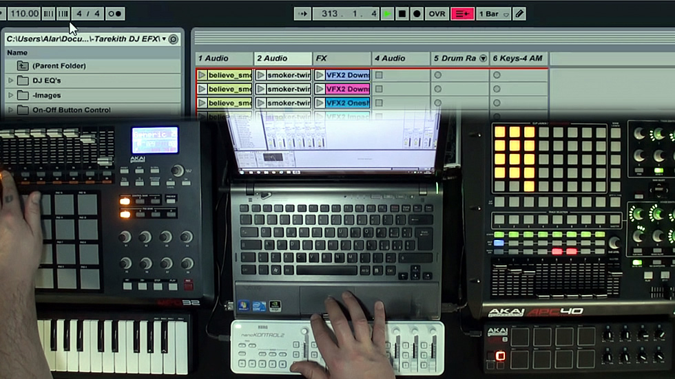 Corso Ableton Live DJing in Video Tutorial Social DRM
