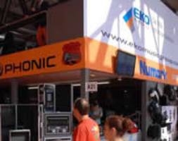 MEET 2007 MILANO – STAND ESOUND BY EKO MUSIC GROUP, NUMARK, PHONIC, TONIUM PACEMAKER, ORTOFON, ALESIS