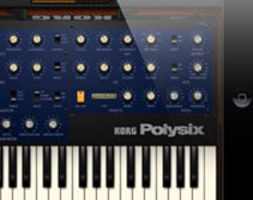 KORG iPOLYSIX APP PER iPAD APPLE