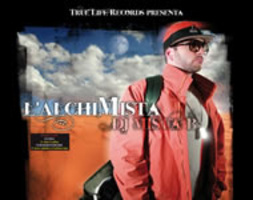 "Copertina Album ""L'AlchiMISTA"" by DJ MISTA B. True Life Records, VIBRA/AUDIOGLOBE"