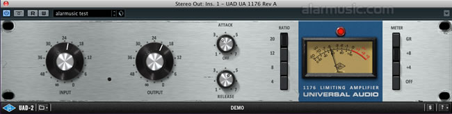 Rev A Bluestripe - UA 1176 Classic Limiter Collection