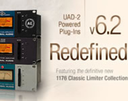 UAD SOFTWARE 6.2 E 1176 CLASSIC LIMITER PLUG-IN COLLECTION