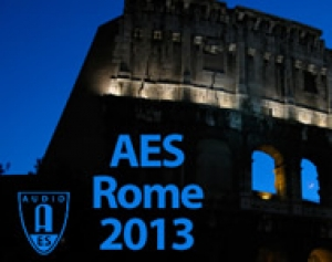 134a AES CONVENTION - FINALMENTE ROMA CAPITALE DELLAUDIO INTERNAZIONALE