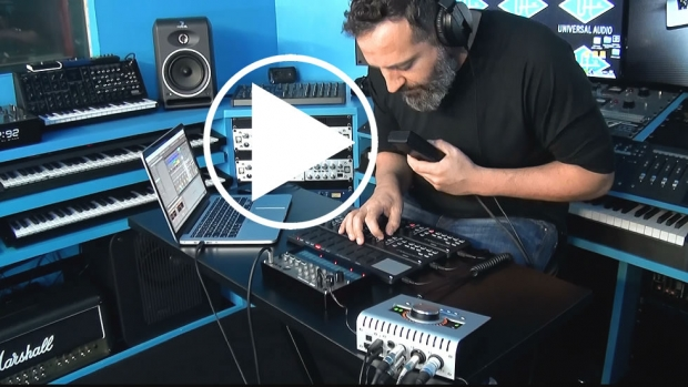 Giaga Robot from Margot: Artist's Story. Universal Audio Apollo Twin e Korg Nano 2 Series