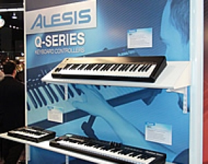 ALESIS QX25, Q61, QX61 - NUOVE TASTIERE MIDI/USB AL WINTER NAMM 2012