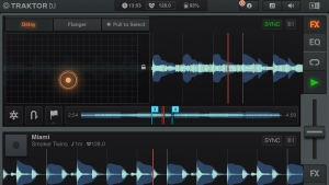 NATIVE INSTRUMENTS TRAKTOR DJ APP PER IPAD
