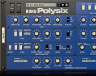 KORG POLYSIX Rack Extension Plug-in per Reason by Propellerhead