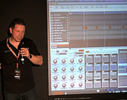 Seminario Akai MPC Renaissance - A New  Way To Make Music by AKAI PROFESSIONAL PRODUCT SPECIALIST ANDY MAC - FOTO 2