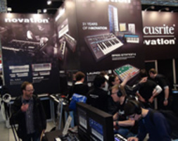 STAND NOVATION AL MUSIKMESSE 2013