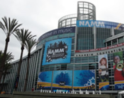 WINTER NAMM 2013 - THE NAMM SHOW - ANAHEIM CALIFORNIA USA