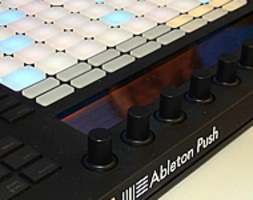 ABLETON LIVE 9 + PUSH  AL WINTER NAMM 2013