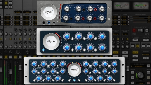 ELYSIA ALPHA COMPRESSOR & MPRESSOR BY BRAINWORX PER LA PIATTAFORMA UAD2 E INTERFACCE APOLLO