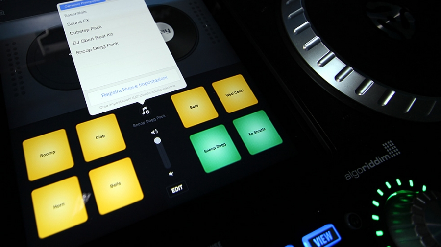 ALGORIDDIM DJAY 2.1 UPDATE COMPATIBILE CON iOS 7 nuove funzioni Inter-App-Audio, Artist Packs e Skratch Tool