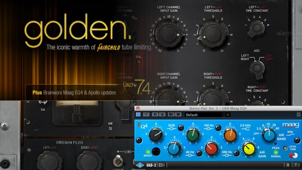 UAD 7.4 PER UAD 2 E APOLLO, FAIRCHILD COLLECTION E MAAG EQ4