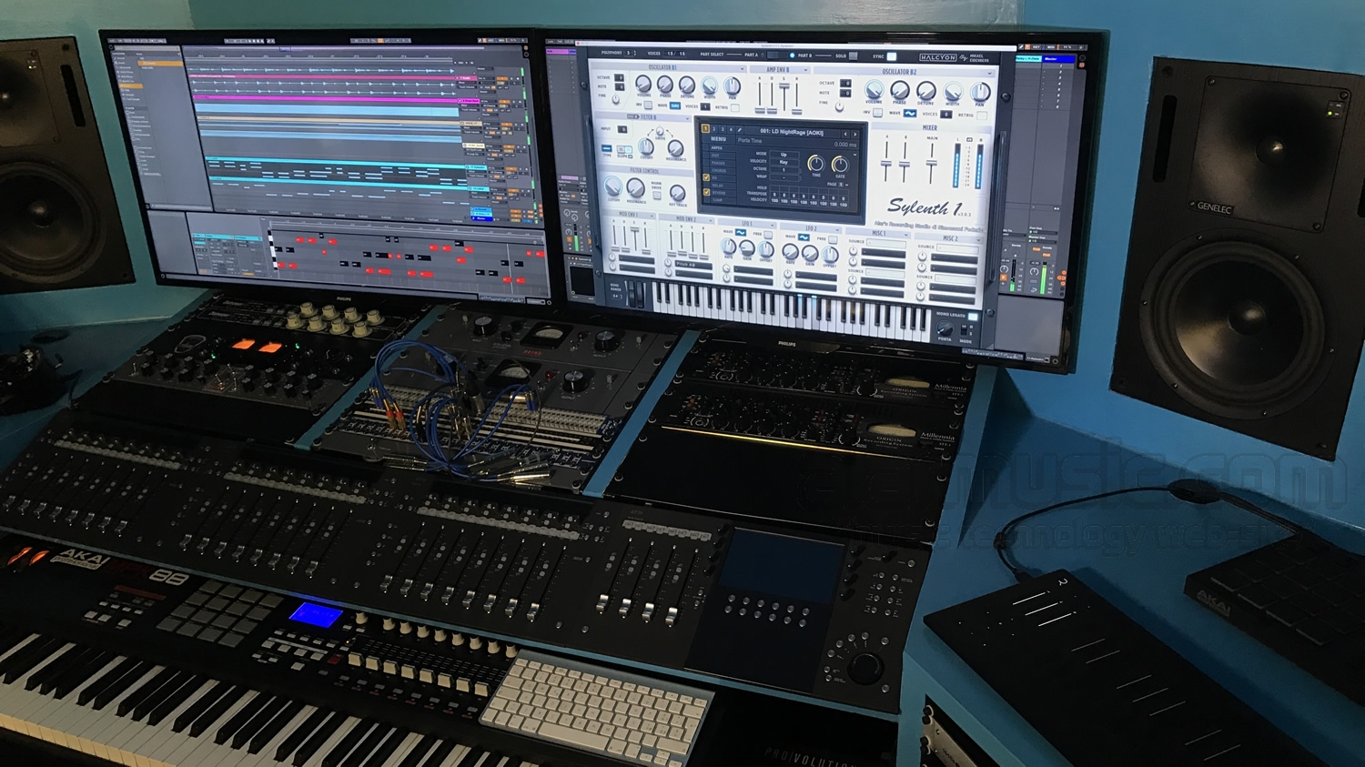 Lennar Digital Sylenth1 3.030 all'Alar's Recording Studio di Simonazzi Federico
