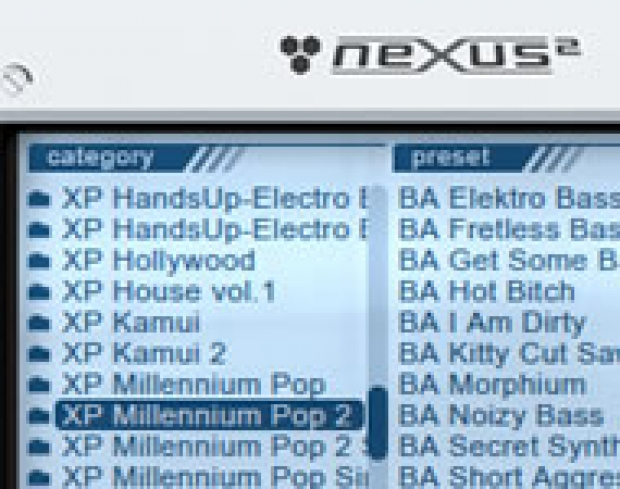 REFX NEXUS2 MILLENNIUM POP VOLUME 2 EXPANSION