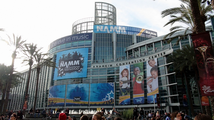 THE WINTER NAMM SHOW 2015 ANAHEIM, CALIFORNIA, USA