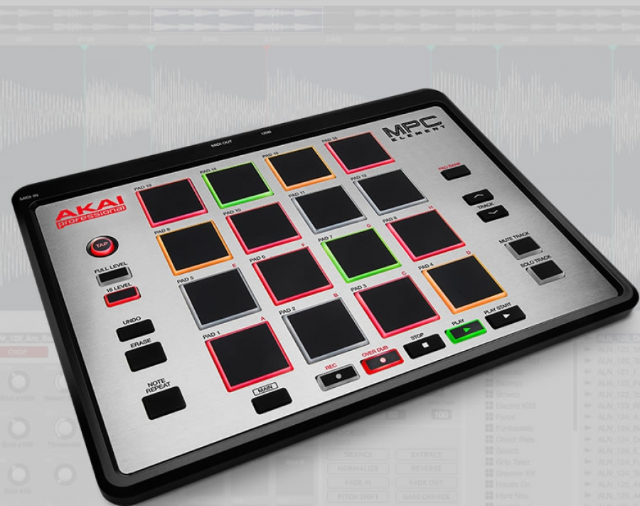 Akai Professional MPC ELEMENT & MPC ESSENTIAL Software