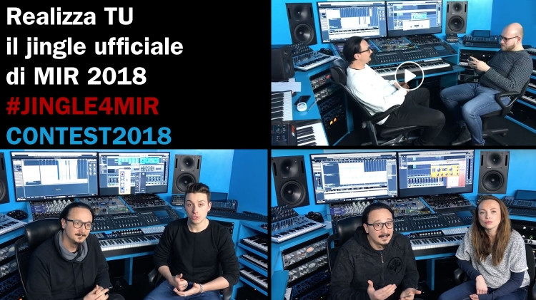 Music Inside Rimi 2018 - MIR 2018 - JINGLE4MIR PRODUCER CONTEST - Realizza il jingle della manifestazione e vinci importanti premi