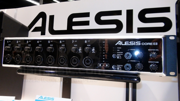 ALESIS CORE 1, CORE 2 E CORE 8 INTERFACCE AUDIO USB AL WINTER NAMM 2014