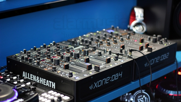 Recensione Allen & Heath XONE:DB2 e XONE:DB4 Mixer professionali per DJ