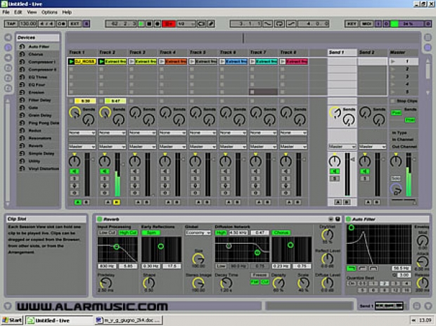 ABLETON LIVE 3 SEQUENCING INSTRUMENTS PER IL LIVE
