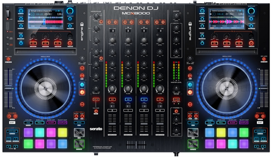 DENON DJ MCX8000 CONSOLE ALL-IN-ONE PER DJ