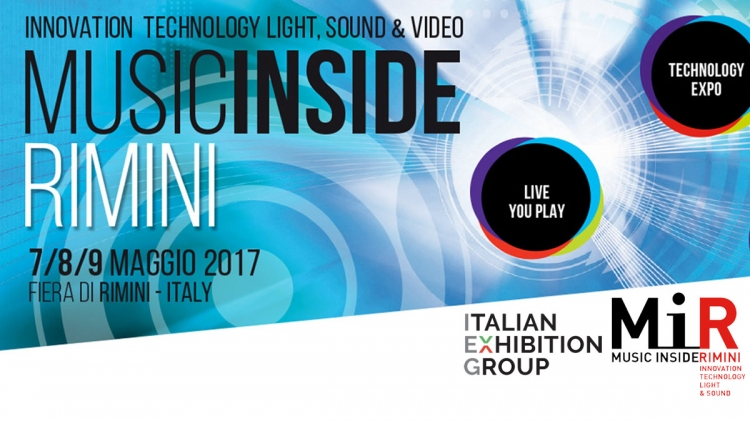Music Inside Rimini 2017 tecnologie per lo spettacolo, audio, luci, DJ, intrattenimento in genere, sistemi integrati, broadcast e video professionali. Music Inside Festival 2017