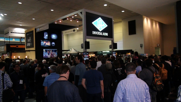 Universal Audio al Winter Namm Show 2015 di Anaheim California, USA