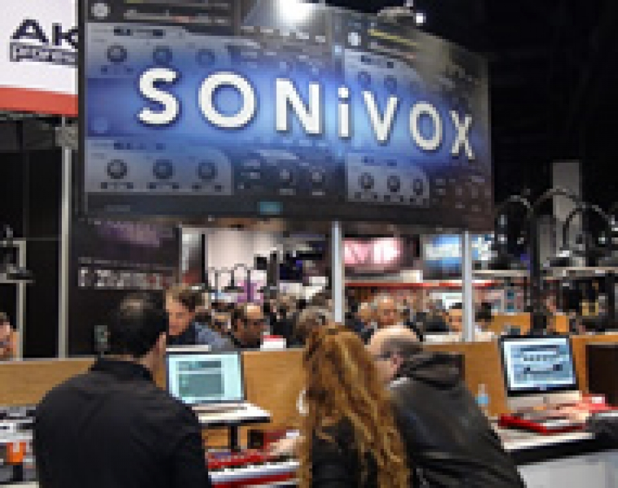 SONIVOX AL WINTER NAMM 2013