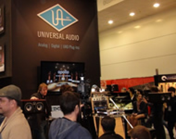UNIVERSAL AUDIO AL WINTER NAMM 2013