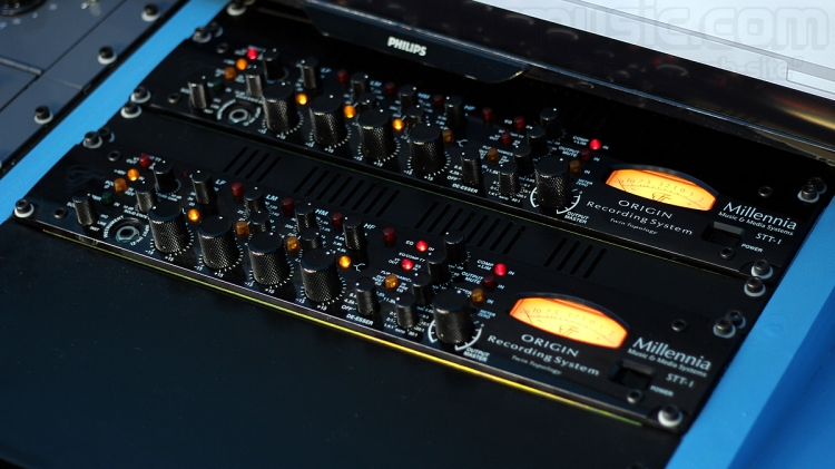 Millenia Media STT-1 Origin Channel strip analogico ibrido a stato solido e valvolare