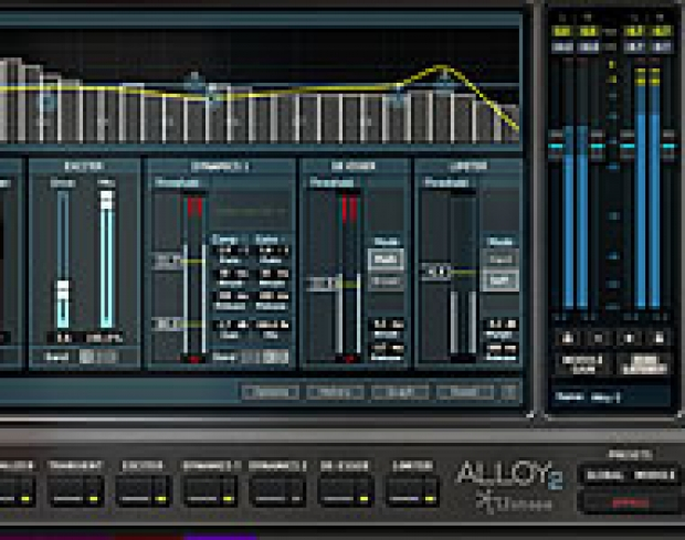 iZOTOPE ALLOY 2  CHANNEL STRIP PLUG-IN