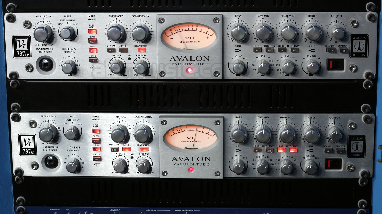 Avalon VT-737-ST all'Alar's Recording Studio di Simonazzi Federico Parma