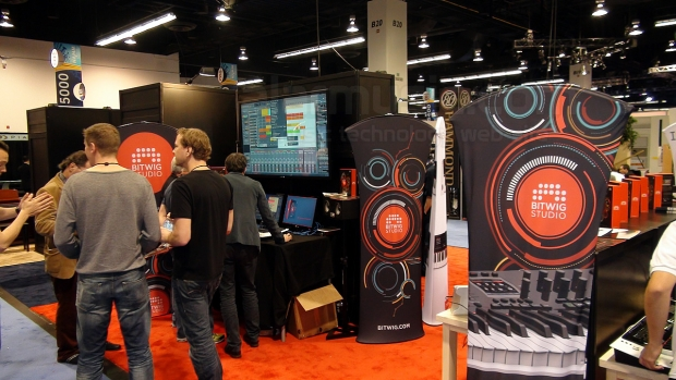 Bitwig Studio al Winter NAMM 2014